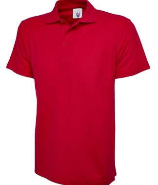 Uneek Classic Poloshirt - Red