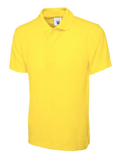 Uneek Classic Poloshirt - Yellow