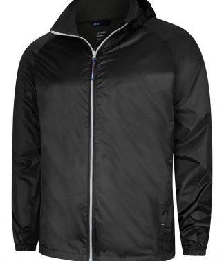 Uneek Active Jacket - Black/Grey