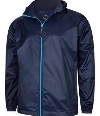 Uneek Active Jacket - Navy/Surf Blue