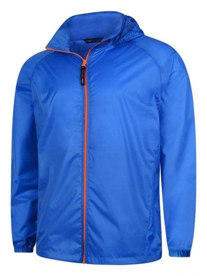 Uneek Active Jacket - Oxford Blue/Orange