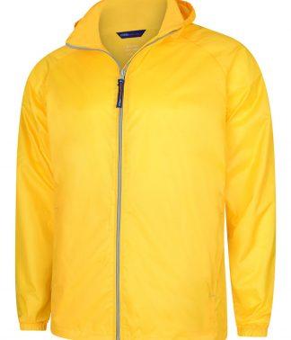 Uneek Active Jacket - Submarine Yellow/Grey