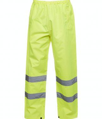 Uneek Hi-Viz Trouser - Yellow