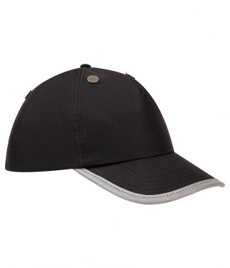 YK550 - Yoko Hi-Vis Safety Bump Cap - Black
