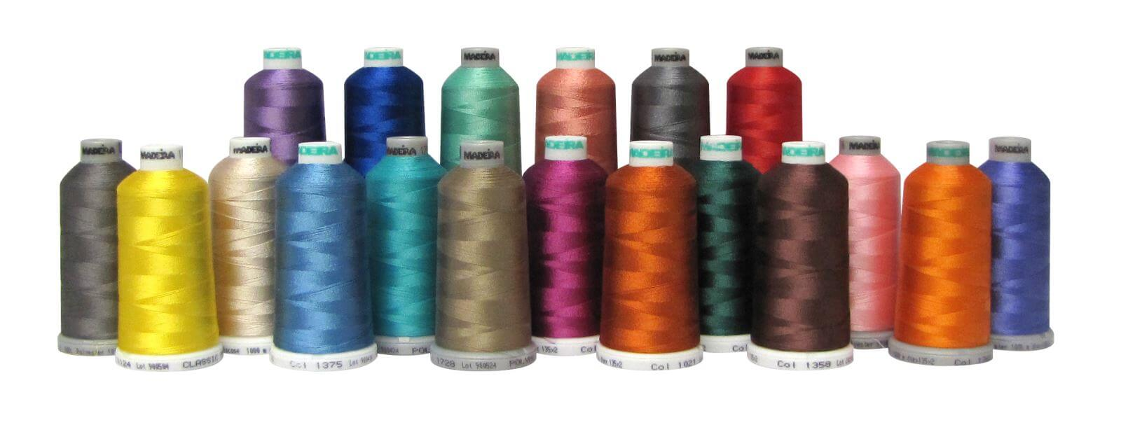 Madeira Thread multi colours