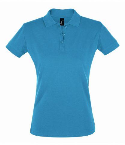 SOLS Ladies Perfect Polo Aqua XXL (11347 AQA XXL)