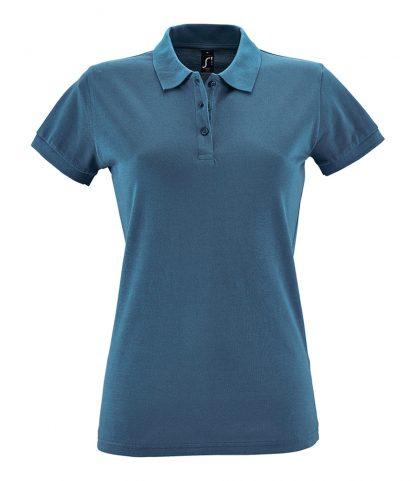 SOLS Ladies Perfect Polo Slate blue XXL (11347 SAB XXL)