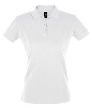 SOLS Ladies Perfect Polo White 3XL (11347 WHI 3XL)