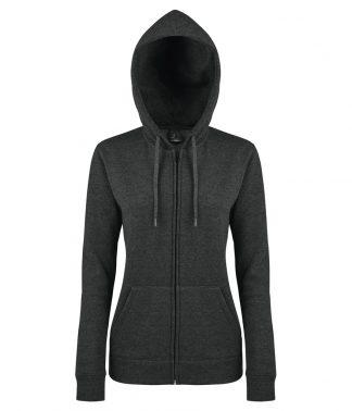 SOLS Lds Seven Hooded Jacket Charcoal marl XL (47900 CHM XL)