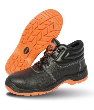 Result W-G Defence Safety Boots Black/orange 13 (RS340 BK/OR 13)